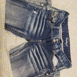 Amethyst Jeans Capri
